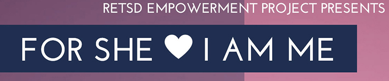 For She I am Me Banner